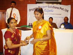 Manager, Ambika Sabapathi, Onyxon Project Solutions Pvt. Ltd.