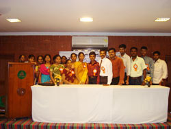 Onyxon Kumbakonam Team in Conference Hall, Hotel Raya's Kumbakonam