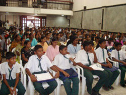 Students from Various Schools and Colleges