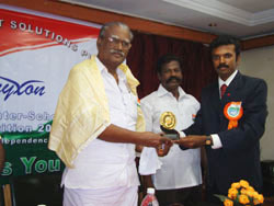 Chief Guest Mr. S. Kalyanasundaram, Vice-President, Parent-Teacher's Association, Tamil Nadu, India